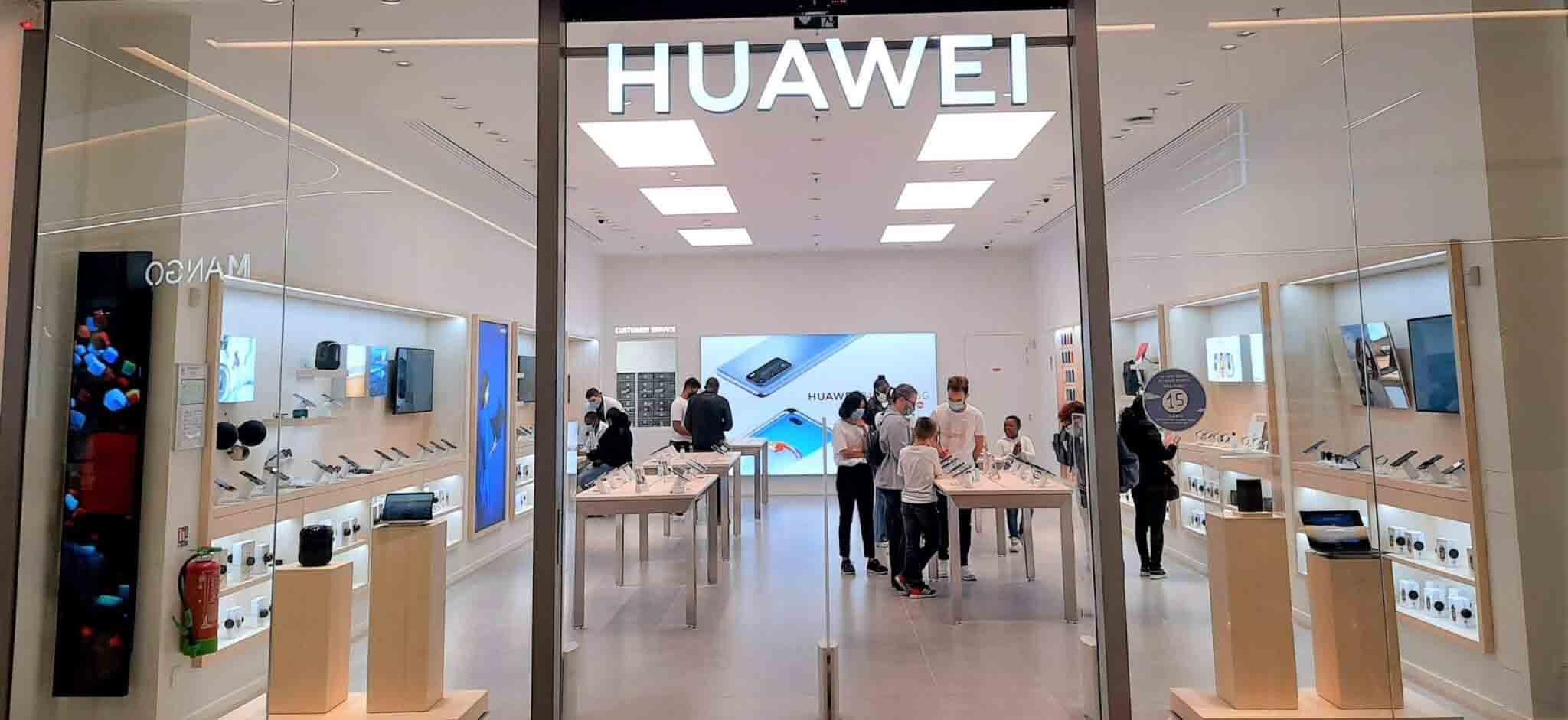 contacter Huawei